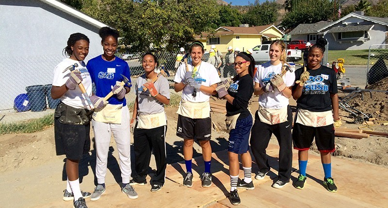 Coyotes and Habitat for Humanity