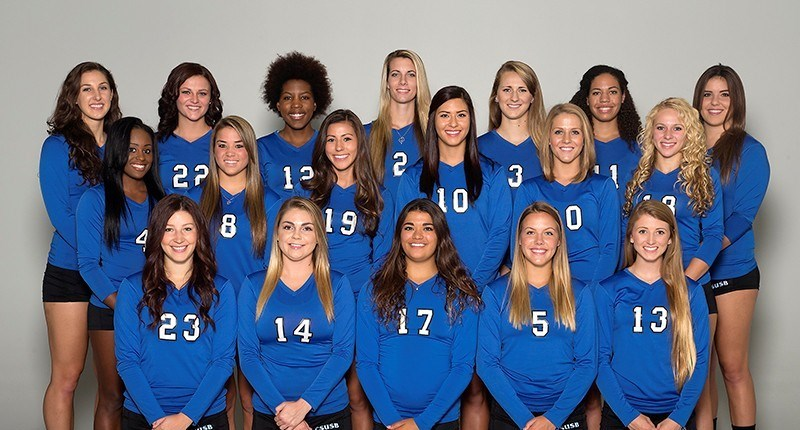 2014 Coyotes volleyball
